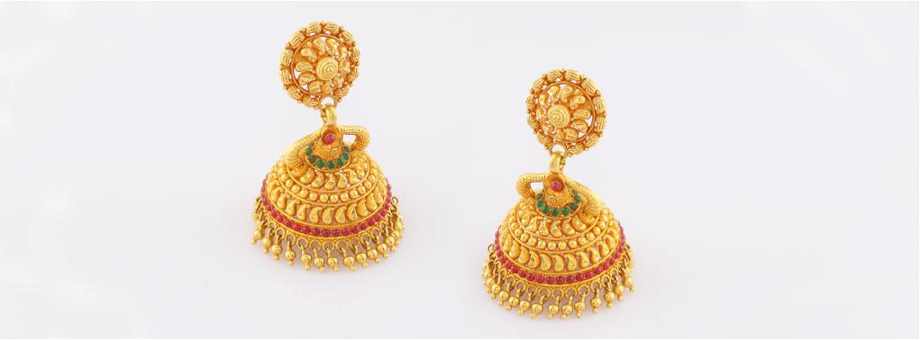 Gold Earring